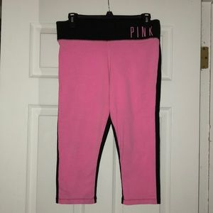 Victoria's Secret PINK cropped leggings